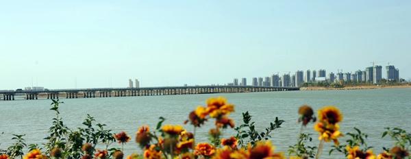 威海南海新区香水河大桥